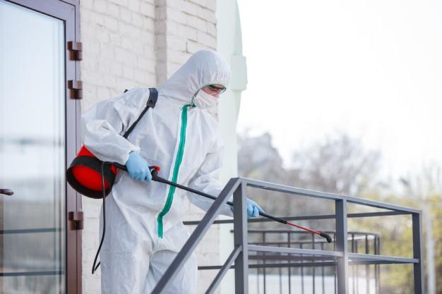 Conheça o passo a passo do serviço de sanitização e desinfecção