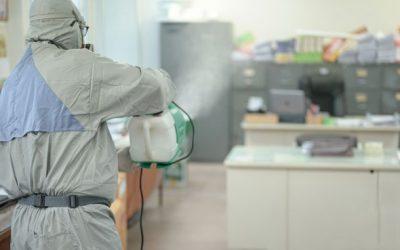 Sanitização para escritórios: mantenha seus colaboradores seguros de vírus perigosos