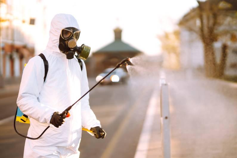 Sanitização de ambientes em Curitiba